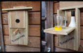 Secreto caja nido para 'beber' edificio