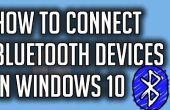 Cómo conectar dispositivos Bluetooth en Windows 10
