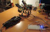Mano de robot Arduino 3 dedos