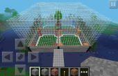 Cómo hacer una Arena de construir rápido Minecraft PE