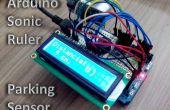 Animación Sonic regla / Sensor de aparcamiento con Arduino