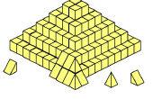 Una teoría completamente nueva en el edificio de pirámides (que yo sepa)
