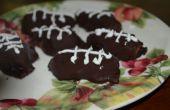Las galletas sin hornear Oreo fútbol