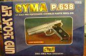 Airsoft pistola mod. CYMA P.638