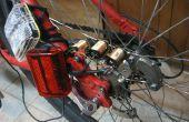 Dinamo sin contacto encendido luces de seguridad de bicicleta