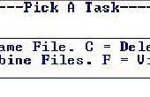 Batch File Maker/Editor.
