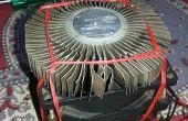 Creación de un poderoso disipador de calor de viejas piezas de la