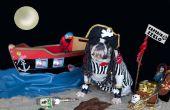 Capitán pirata de Bulldog Zeelo con barcos y accesorios