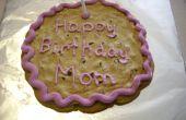 Hacer un pastel de galleta