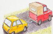 Cómo remolcar un coche con un camión