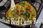 Receta casera de Curry indio