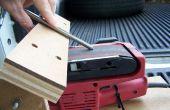Resto de la herramienta para una lijadora de banda para afilar
