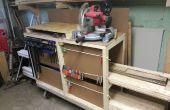 Carro de almacenamiento de madera