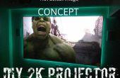 (Concepto) $275 1440p proyector (o $225 para 1080p)