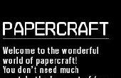 Papercraft de skater