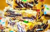 Cargado de barras de galletas