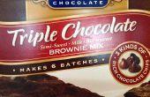 Cómo hacer Brownies de Ghirardelli