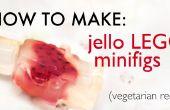 Cómo hacer gelatina minifigs de LEGO