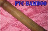 Hacer imitación bambú PVC