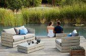 BRICOLAJE muebles de jardín al aire libre