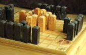 Diseñar y construir su propio tablero del juego de Hnefatafl