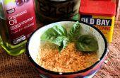 Dip de cangrejo cangrejo-Less (receta libre de Candida)