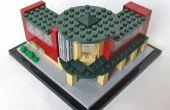 A LEGO® construido Micro escala sistema de Museo de Longmont, Colorado por Rigney imaginar