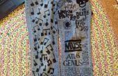 DIY pantalones vaqueros del arte: Dar viejo Jeans nueva vida!