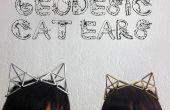 Orejas de gato geodésica accesorio de la joyería