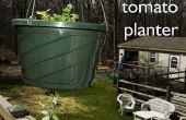 Invertida plantador de tomate