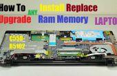 Cómo actualizar Ram memoria Laptop instalar reemplazar