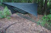 Simple línea de tensores para Camping y mochila