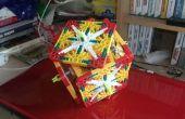 Cómo hacer un K'nex orientado cosa de estilo de cubo de Rubik: