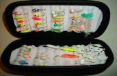 Caja de bolsillo de hielo pesca jig