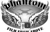 Caso de Drone ajuste personalizado (DJI Phantom), portador del Quadcopter