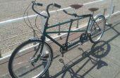Restauración bicicleta Tándem vintage