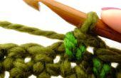 Cómo al poco profundas puntada Crochet... mira solo como tejer!