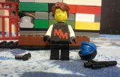 Hacer una 3D personalizada LEGO mini figura cabeza