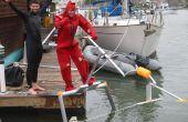 "Cómo ""Volar"" un Hydrofoil accionado humano - ""Aquaskipper"""