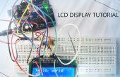 Cómo utilizar la pantalla LCD con arduino tutorial