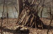 Cómo hacer un sitio de campamento de supervivencia en el bosque