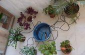 Sistema de micro riego para plantas de interior