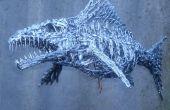 Escultura de los pescados del silicón caucho