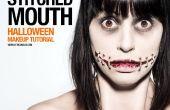Cosido de boca - Tutorial de maquillaje SFX