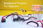 10 proyectos de breadboard para principiantes