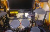 Batería electrónica barato bricolaje Kit platillos