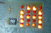Cómo conducir una gran cantidad de LEDs de unos pines del microcontrolador.