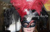 DIY Masquerade máscara gótica
