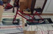 Snowboard bicicleta