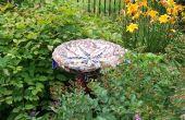 Crear un mosaico de jardín ornamento excéntrico